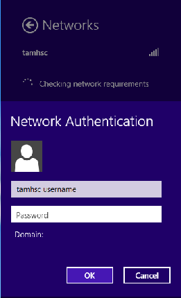 Win 8 wifi pass req
