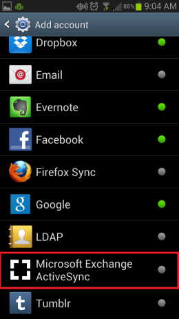 Android Email pic 2