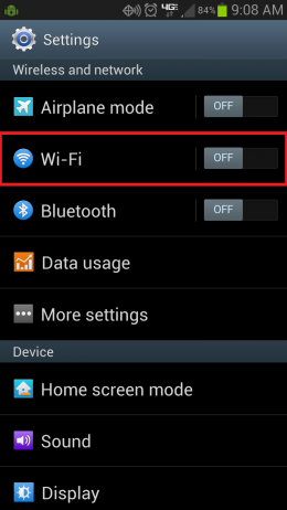 Android Wi-Fi pic 1