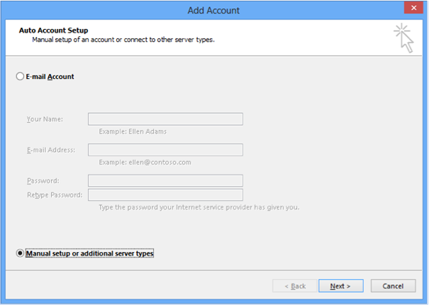 Voicemail - Outlook (step 3)