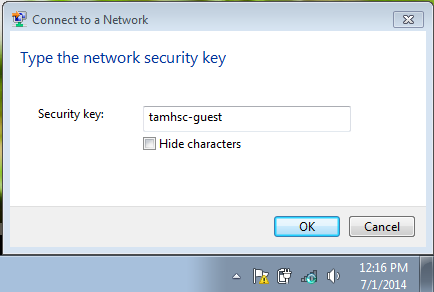 Win7Guest key request