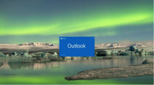Outlook loading page for PC