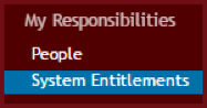 System Entitlements