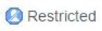 Restricted button for Spirion